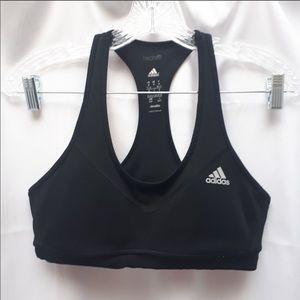 Adidas Black Sports Bra medium